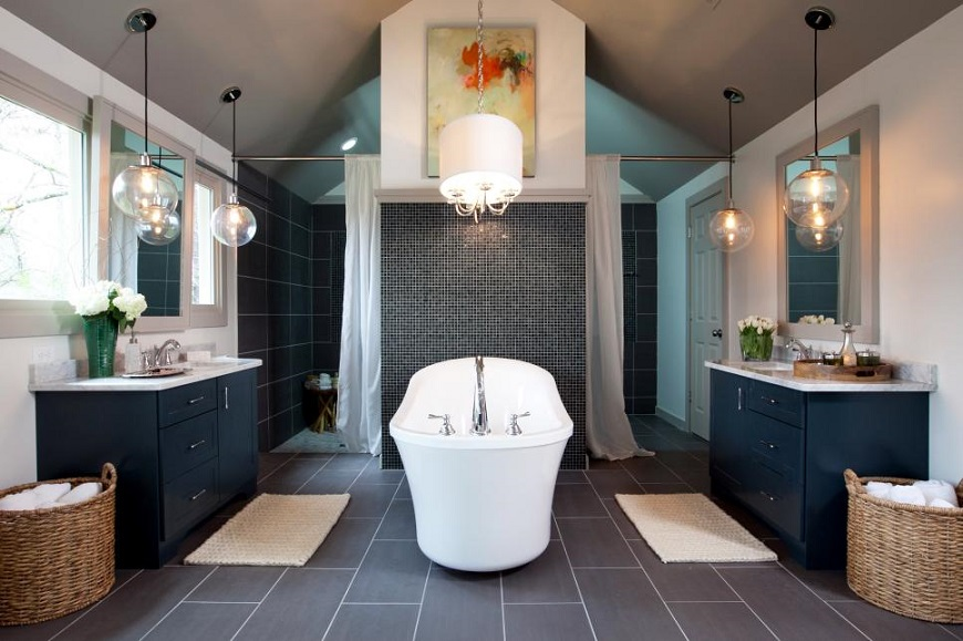 Be Inspired By Luxurious Bathroom Makeovers From HGTV Stars #luxurybathroomsbrands #luxurybathroomsdesigns #luxurybathroomsimages #allwhitebathrooms http://luxurybathrooms.eu @mvalentinabath Luxurious Bathroom Makeovers Be Inspired By Luxurious Bathroom Makeovers From HGTV Stars 1400992087879