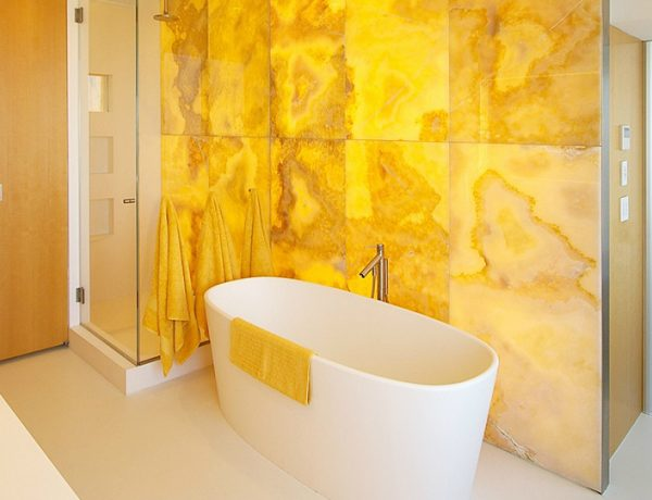 Yellow Luxury Bathrooms 21 Yellow Luxury Bathrooms To Brighten Up Your Home 21 Yellow Luxury Bathrooms To Brighten Up Your Home feat 600x460