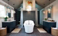 Luxurious Bathroom Makeovers Be Inspired By Luxurious Bathroom Makeovers From HGTV Stars Luxury bathrooms bathroom interior design bathroom decor ideas 240x150