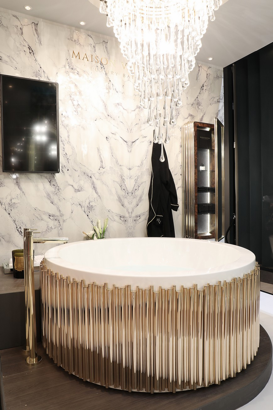 Don't Miss the Riveting International Bathroom Exhibition at iSaloni 1