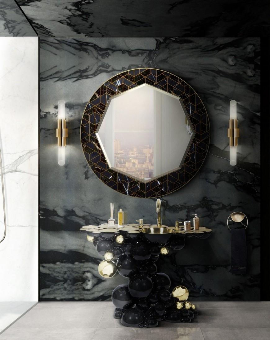 salone del mobile 2018 A Rhapsody for Wall Mirrors to Be Sensed at Salone del Mobile 2018 Maison Valentinas Iconic Bathroom Designs at Salone del Mobile 2018 2