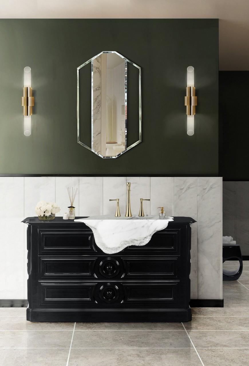 salone del mobile 2018 A Rhapsody for Wall Mirrors to Be Sensed at Salone del Mobile 2018 Maison Valentinas Iconic Bathroom Designs at Salone del Mobile 2018 3
