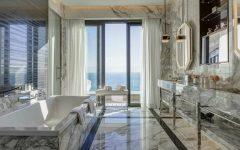 The Lavish Princess Grace Suite Has The Most Luxurious Bathroom #luxurybathroomsbrands #luxurybathroomsdesigns #luxurybathroomsimages #allwhitebathrooms http://luxurybathrooms.eu @mvalentinabath