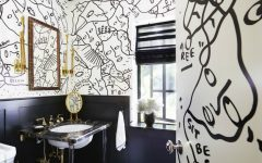 Black and White Bathrooms Draw Inspiration from Timeless and Glamorous Black and White Bathrooms featured 240x150