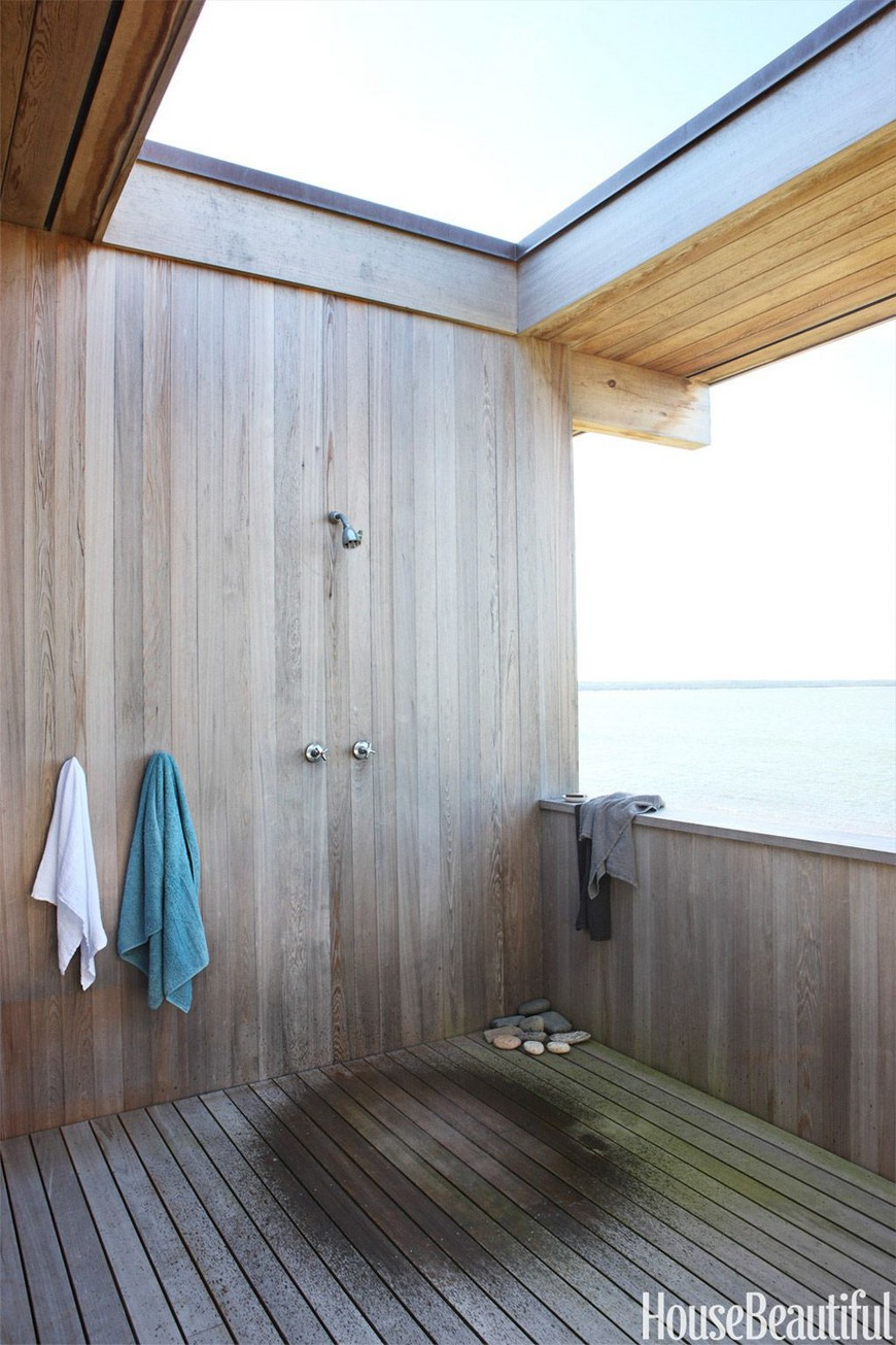 7 Exceptional Outdoor Showers that Will Leave You Craving for More 4