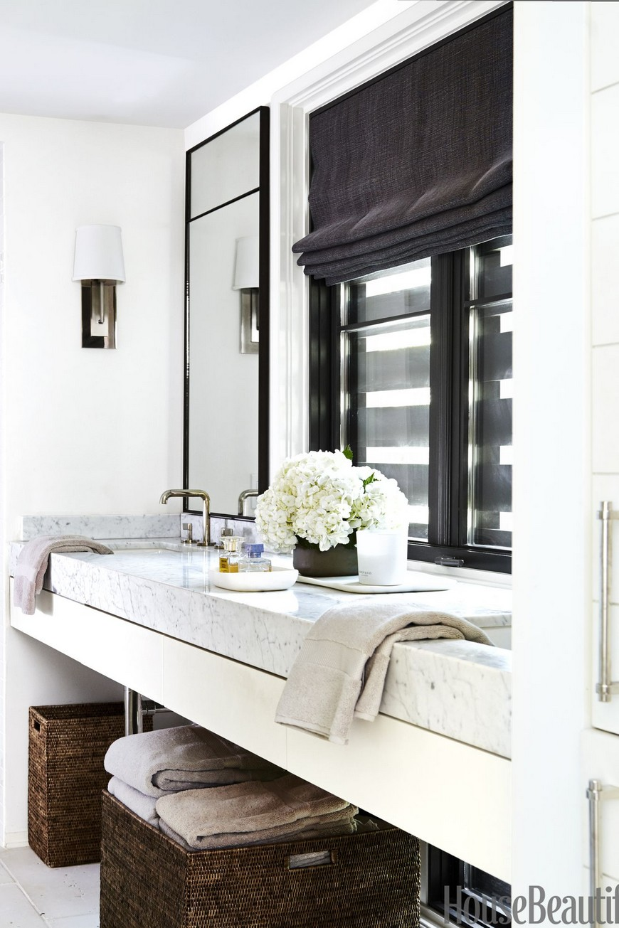6 Small Bathroom Ideas to Achieve a Simple Yet Elegant ... on Simple Small Bathroom Ideas  id=79920