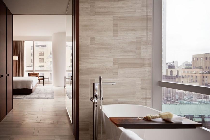 Explore the Most Intriguing Hotel Bathroom Designs by Yabu Pushelberg 10