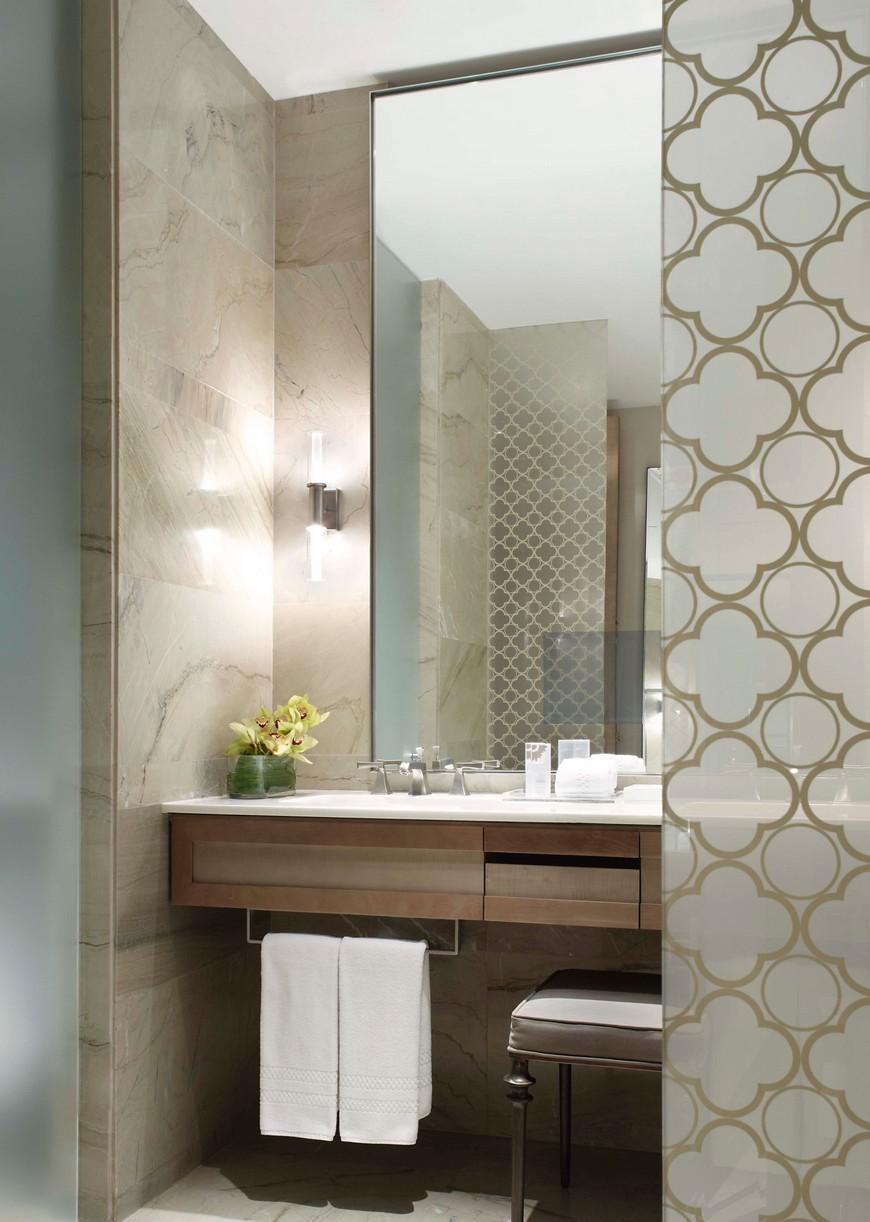 Explore the Most Intriguing Hotel Bathroom Designs by Yabu Pushelberg 11