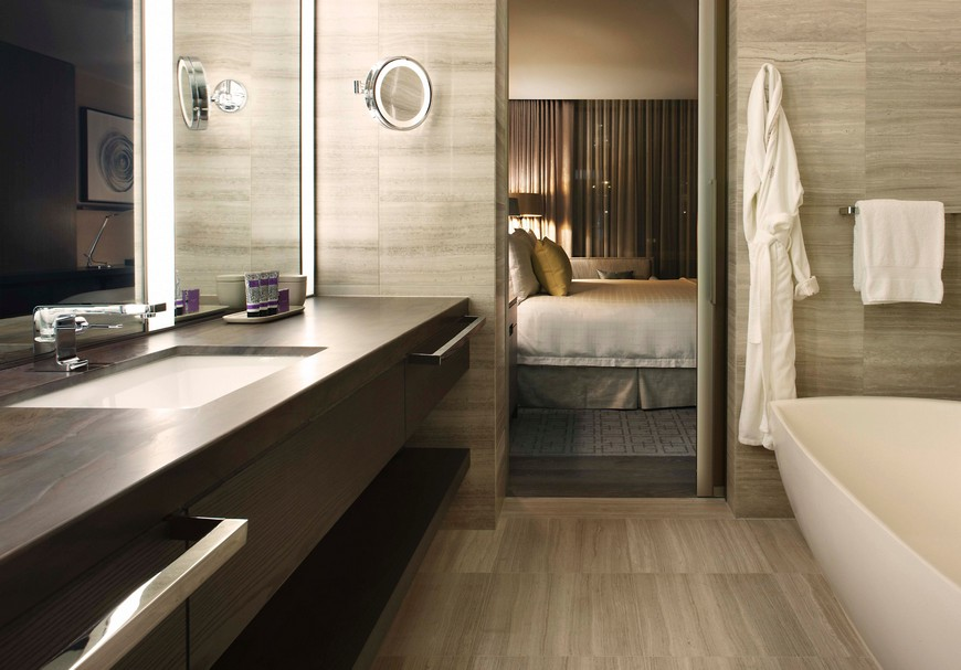 Explore the Most Intriguing Hotel Bathroom Designs by Yabu Pushelberg 4