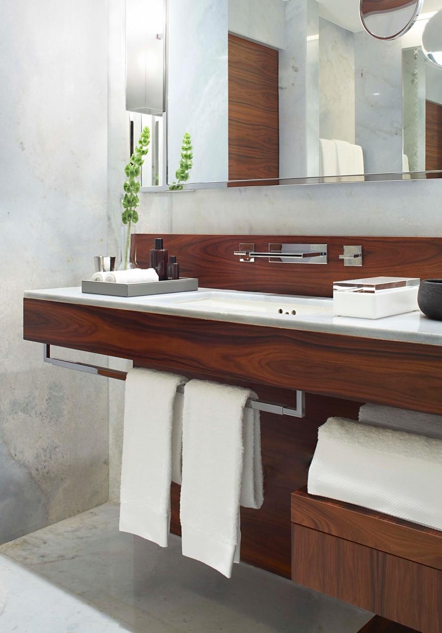 hotel bathroom designs Explore the Most Intriguing Hotel Bathroom Designs by Yabu Pushelberg Explore the Most Intriguing Hotel Bathroom Designs by Yabu Pushelberg 7