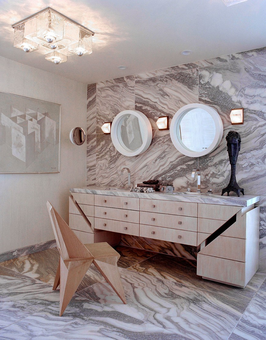 The Most Iconic Bathroom Design Projects by Kelly Wearstler 4