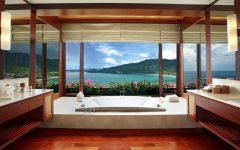 hotel luxury bathrooms 10 Fabulous Hotel Luxury Bathrooms with Sweeping Views to the Outside featured 11 240x150