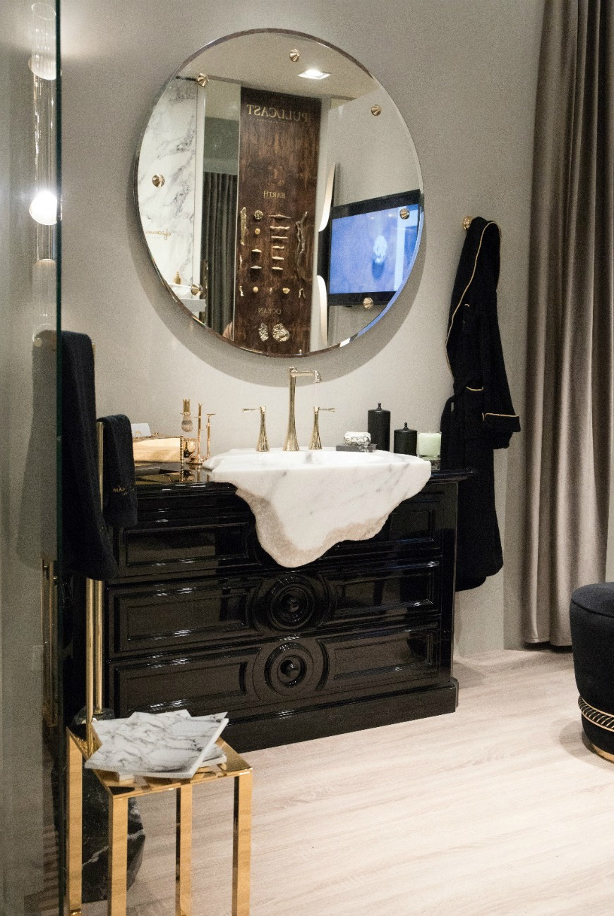 Glime Mirror Glime Mirror Glime Mirror: A Precious Piece of Art That Elevates Any Environment A Visual Odyssey to Maison Valentinas Best Curated Bathroom Mirrors 17