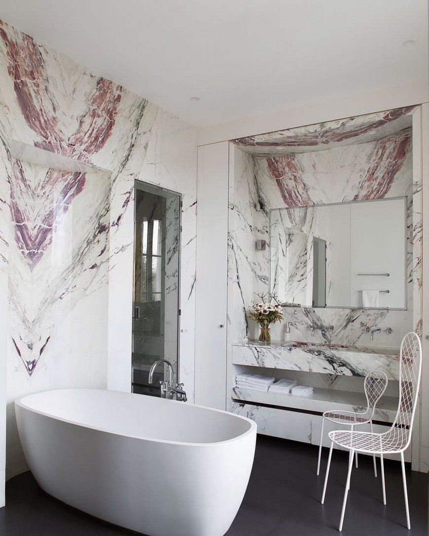 Draw Inspiration from these Stunning Contemporary Bathroom Designs