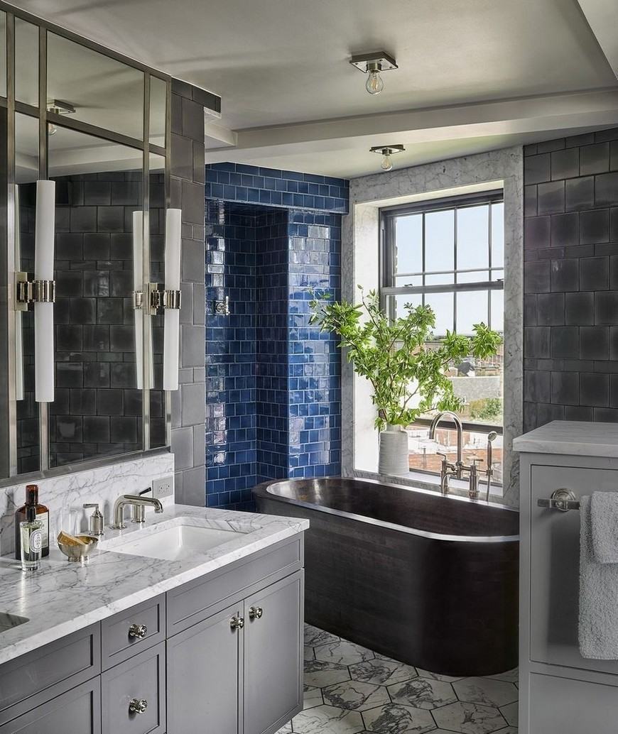 Draw Inspiration from these Stunning Contemporary Bathroom Designs 2