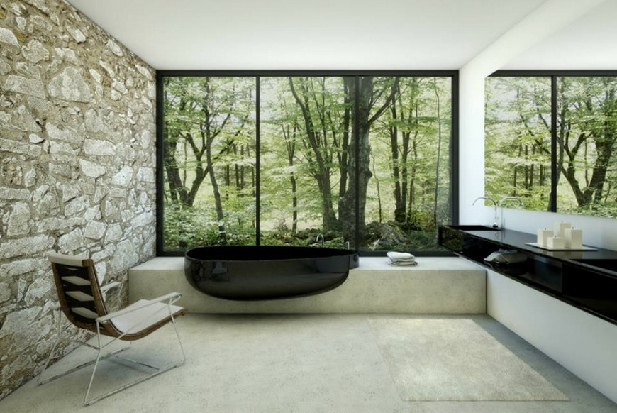 Draw Inspiration from these Stunning Contemporary Bathroom Designs 8