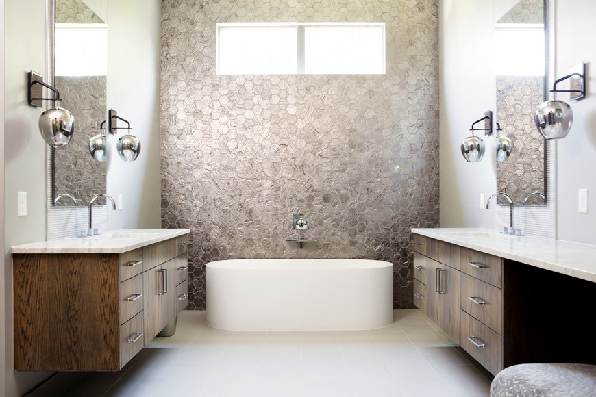 Edgy And Eclectic Bathroom Designs Of A Residential Project In Texas 4 Eclectic  Bathroom Designs Edgy