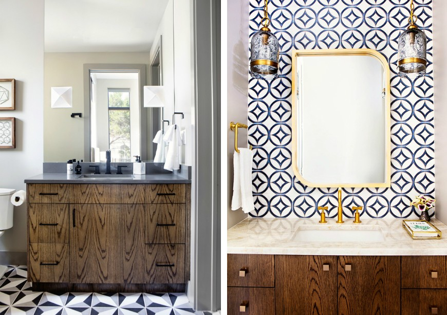 Edgy and Eclectic Bathroom Designs of a Residential Project in Texas 5