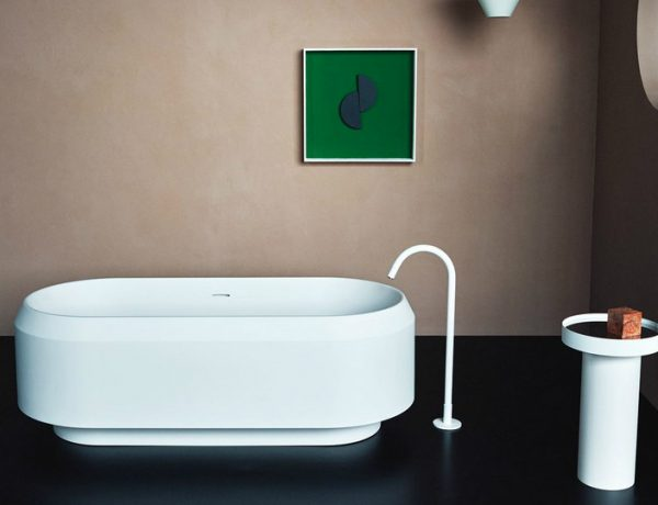 bathroom collection Gaze at Patricia Urquiola's Lariana Bathroom Collection for Agape featured 11 600x460