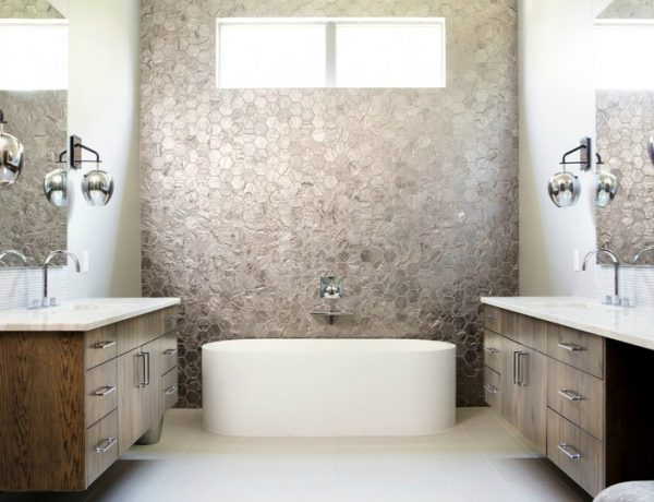 Eclectic Bathroom Designs Edgy and Eclectic Bathroom Designs of a Residential Project in Texas featured 6 600x460