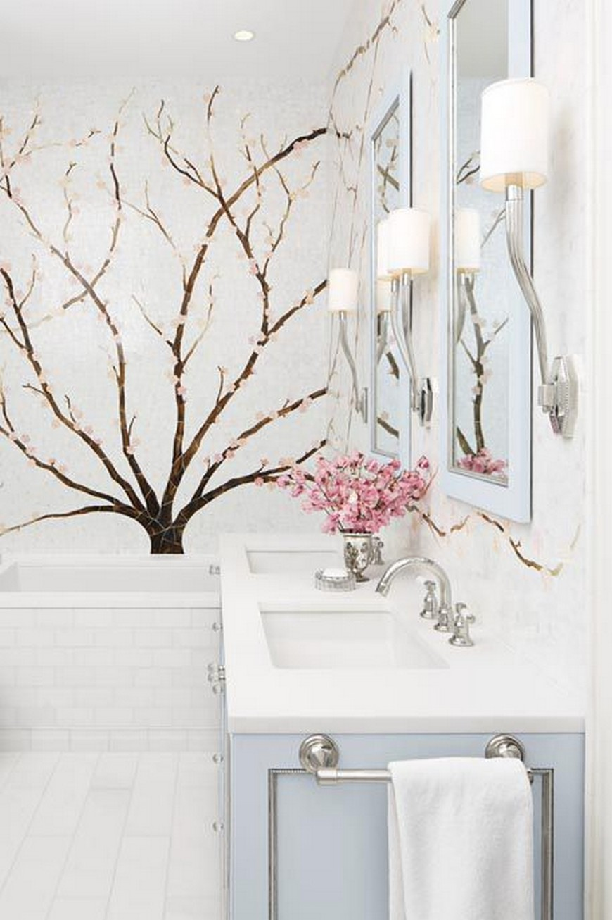8 Design Ideas to Spruce Up the Decor of White Luxury Bathrooms 4