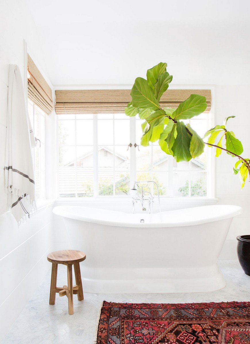 8 Design Ideas to Spruce Up the Decor of White Luxury Bathrooms 7