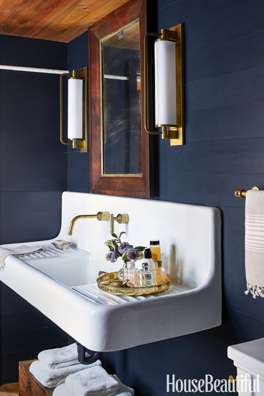 Color Trends Navy Blue Emerges as Favorite to Use in Bathroom Designs 2