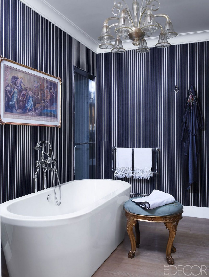 Color Trends Navy Blue Emerges as Favorite to Use in Bathroom Designs 4