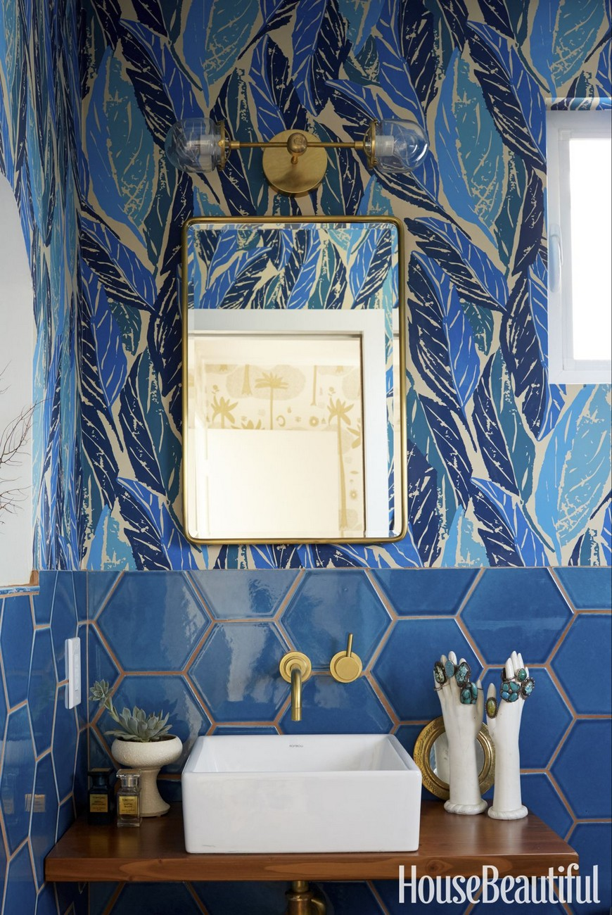 Color Trends Navy Blue Emerges as Favorite to Use in Bathroom Designs 5