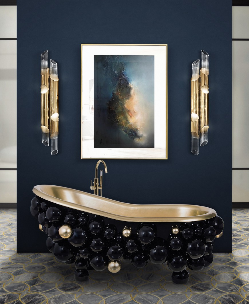 Color Trends Navy Blue Emerges as Favorite to Use in Bathroom Designs 7