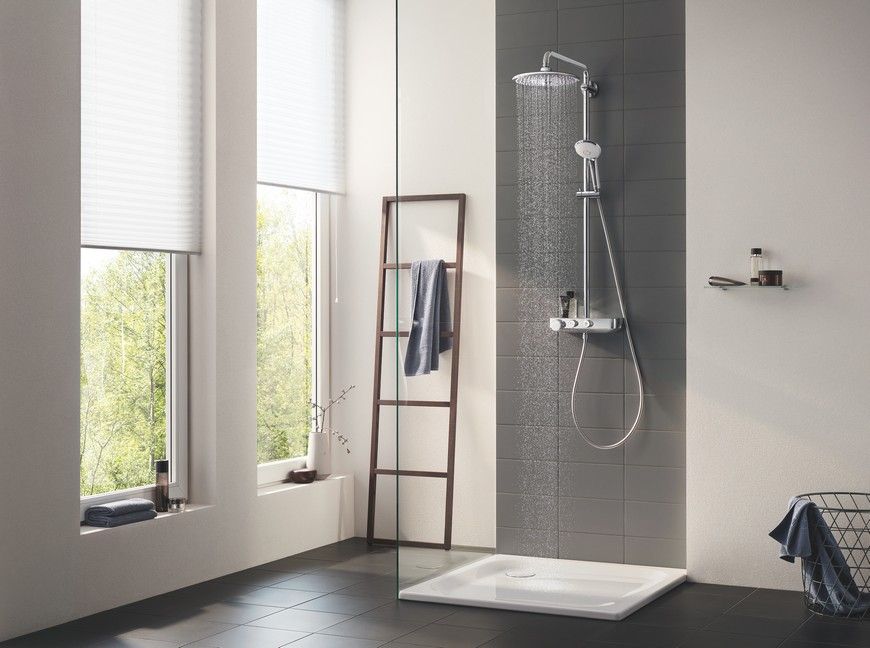 Euphoria Smartcontrol is the New Bathroom Shower System by GROHE 2