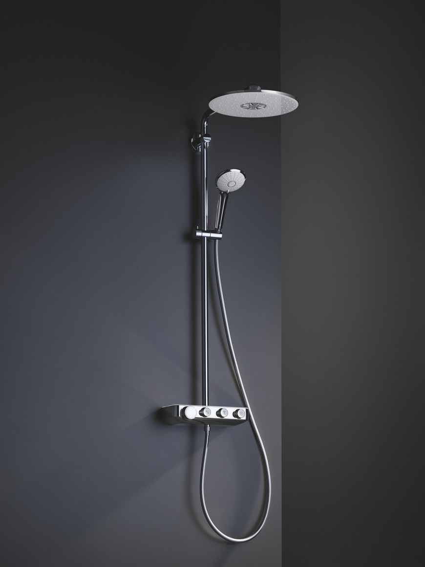 Euphoria Smartcontrol is the New Bathroom Shower System by GROHE 3 Euphoria Smartcontrol is the New Bathroom Shower System by GROHE