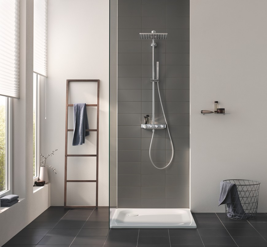 Euphoria Smartcontrol is the New Bathroom Shower System by GROHE 4