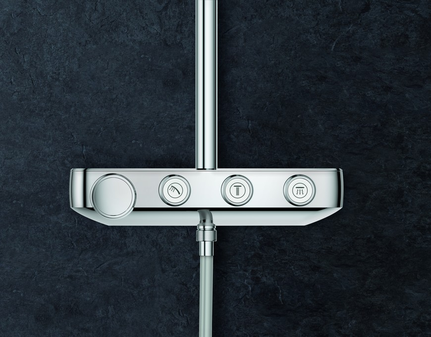 Euphoria Smartcontrol is the New Bathroom Shower System by GROHE 5
