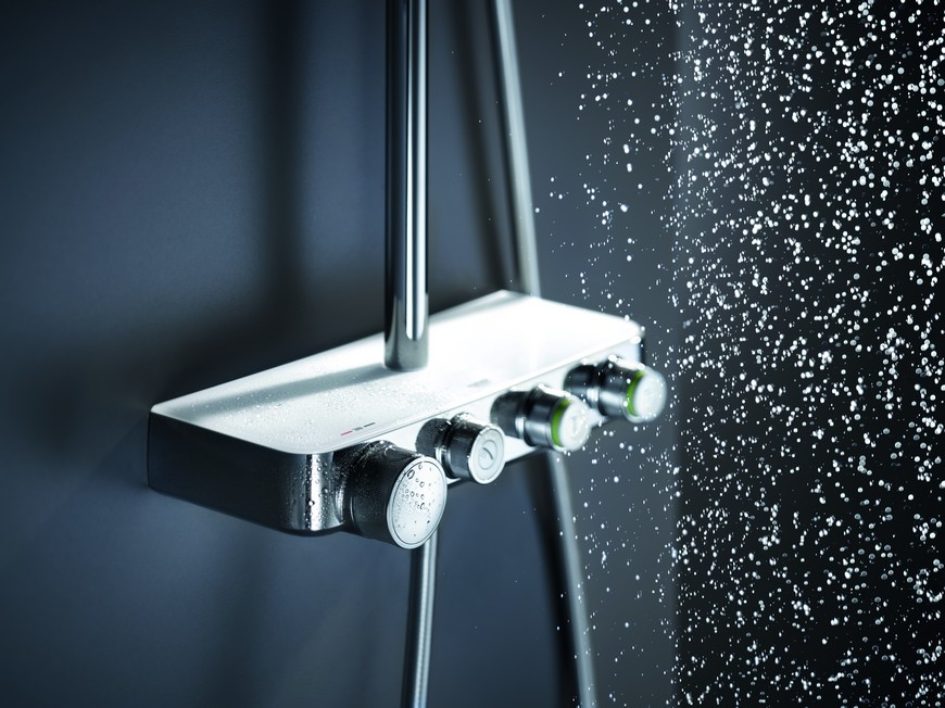 bathroom shower system Euphoria Smartcontrol is the New Bathroom Shower System by GROHE Euphoria Smartcontrol is the New Bathroom Shower System by GROHE 6