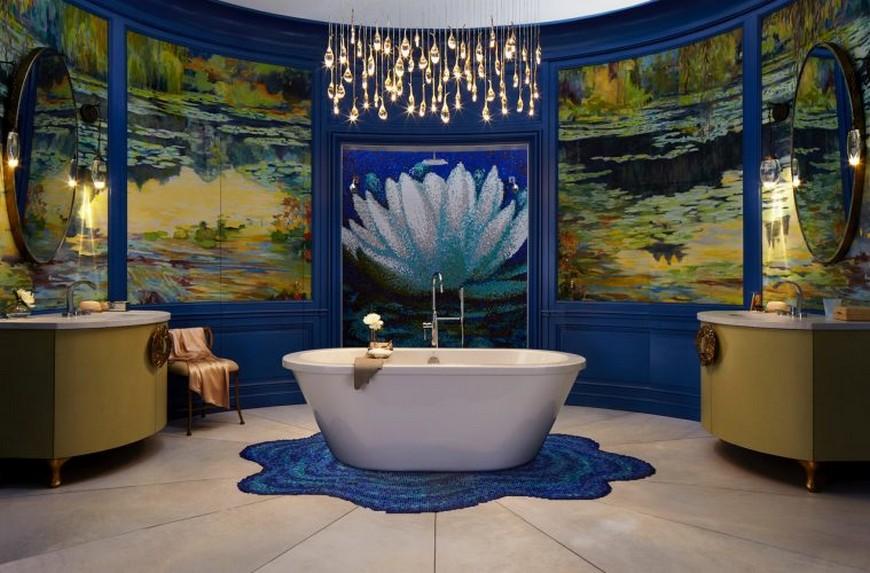 Wilson Kelsey Designs Marvelous Luxury Bathroom Inspired by Monet 2 Luxury Bathroom Wilson Kelsey Designs Marvelous Luxury Bathroom Inspired by Monet Wilson Kelsey Designs Marvelous Luxury Bathroom Inspired by Monet 2
