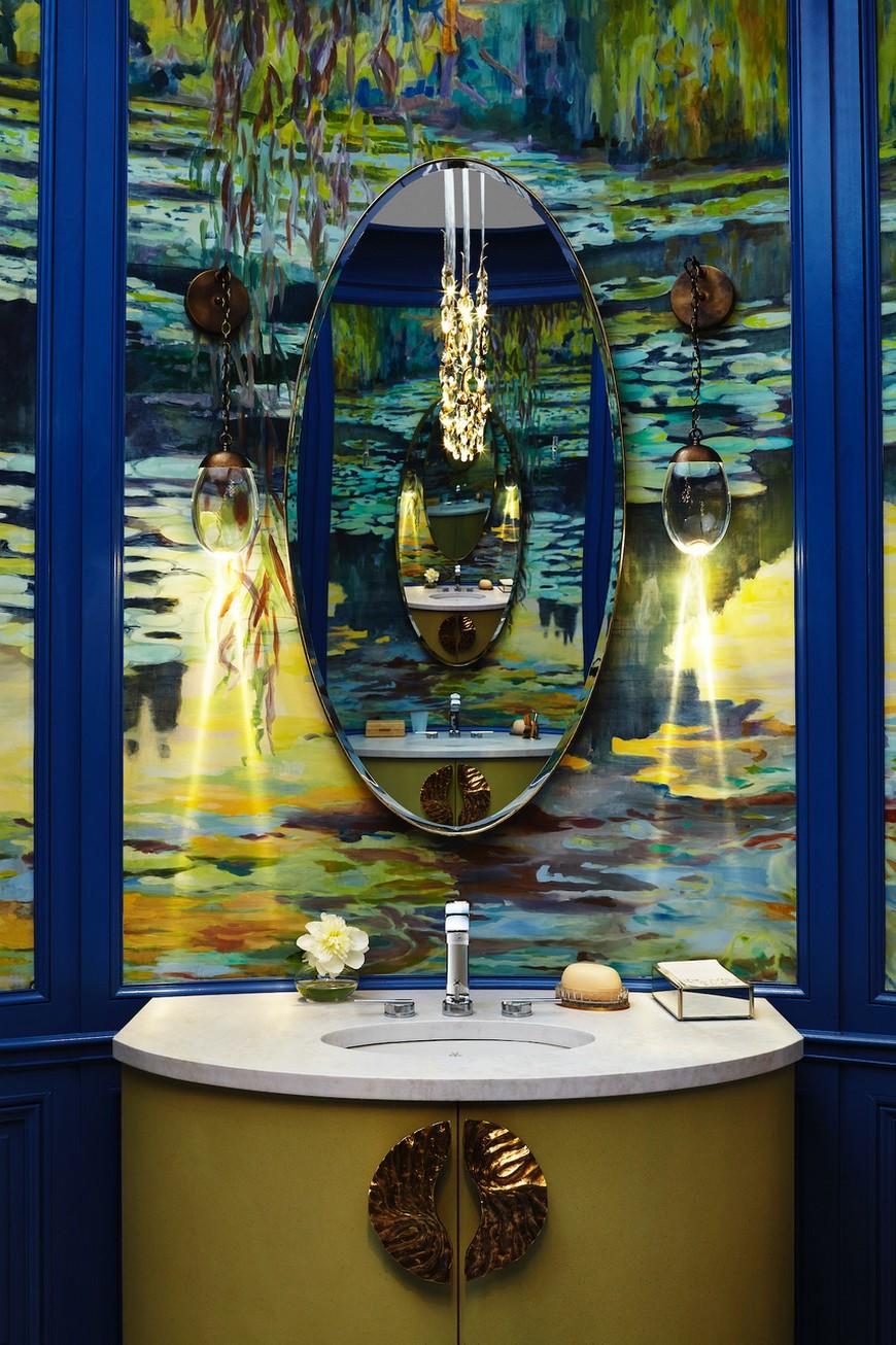 Wilson Kelsey Designs Marvelous Luxury Bathroom Inspired by Monet 4 Luxury Bathroom Wilson Kelsey Designs Marvelous Luxury Bathroom Inspired by Monet Wilson Kelsey Designs Marvelous Luxury Bathroom Inspired by Monet 4