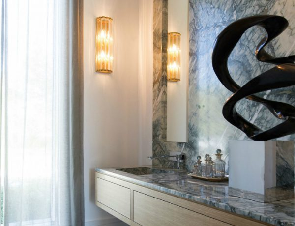 design inspirations Design Inspirations: Help Yourself to a Cluster of Bold Powder Rooms featured 9 600x460