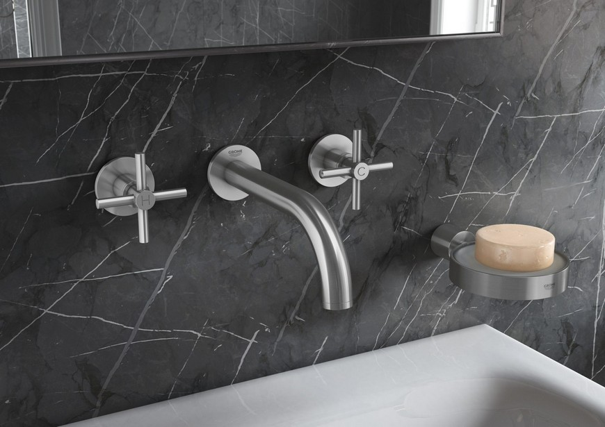 Appreaciate the Design of Minimalist Bathroom Faucets by Grohe 1 minimalist bathroom Appreaciate the Design of Minimalist Bathroom Faucets by Grohe Appreaciate the Design of Minimalist Bathroom Faucets by Grohe 1