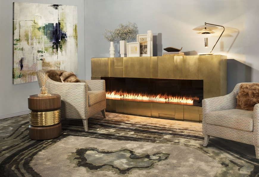 timeless fireplaces Come Upon 5 Timeless Fireplaces to Warm Up Your Bathroom Design Come Upon 5 Timeless Fireplaces to Warm Up Your Bathroom Design 6