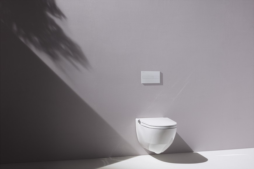 Laufen Bathrooms' Cleanet Riva Offers a New Vision for Shower Toilets 1