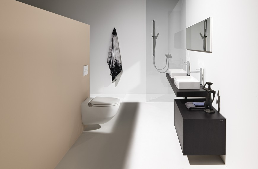 Laufen Bathrooms' Cleanet Riva Offers a New Vision for Shower Toilets 4