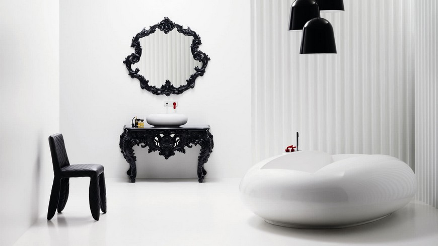 Reminisce Over the Bagno Bisazza Bathroom Collection by Marcel Wanders 1
