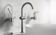 minimalist bathroom Appreaciate the Design of Minimalist Bathroom Faucets by Grohe featured 27 240x150