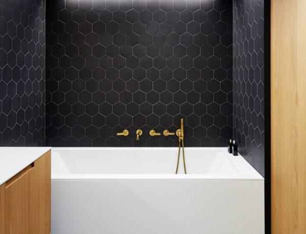 mid-century bathrooms This Triplex Apartment in Prague Features Unique Mid-Century Bathrooms featured 9 600x460