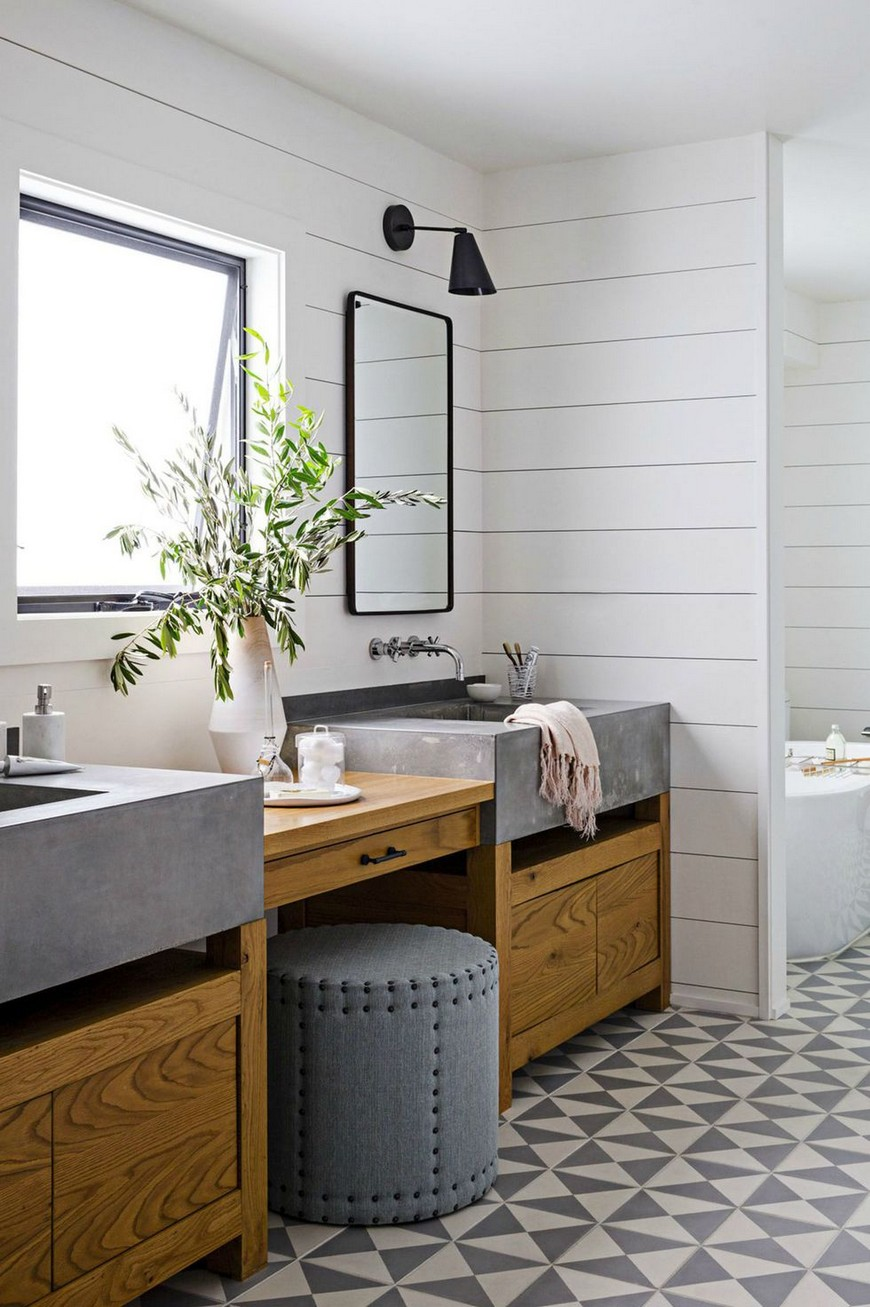 Give a Rustic Vibe to Your Bathroom Design with Unique Farmhouse Ideas 6 bathroom design Give a Rustic Vibe to Your Bathroom Design with Unique Farmhouse Ideas Give a Rustic Vibe to Your Bathroom Design with Unique Farmhouse Ideas 6