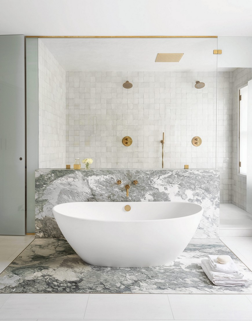 bathroom ideas See Stylish Bathroom Ideas that Have Brass as the Main Decor Detail See Stylish Bathroom Ideas that Have Brass as the Main Decor Detail 3