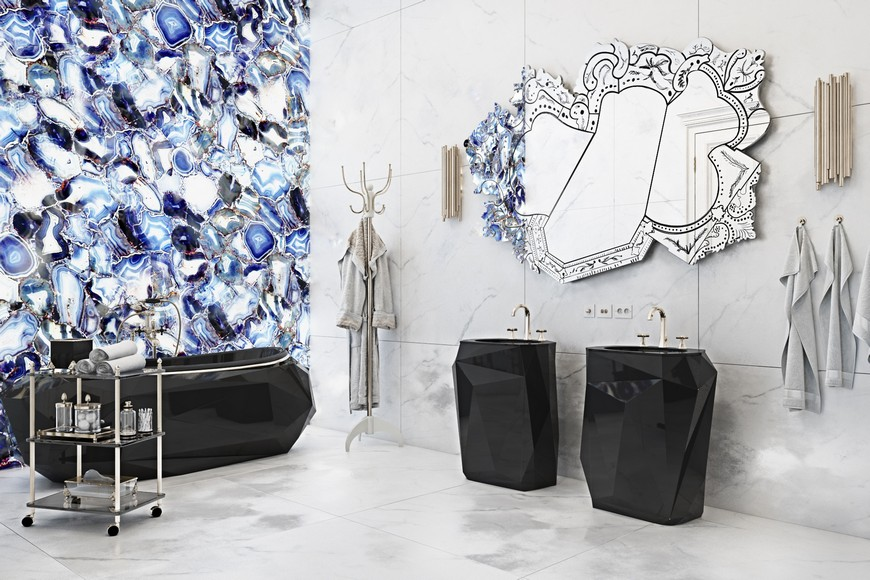 bathroom ideas See Stylish Bathroom Ideas that Have Brass as the Main Decor Detail See Stylish Bathroom Ideas that Have Brass as the Main Decor Detail 5
