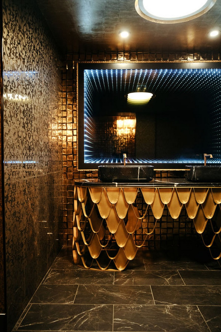 bathroom ideas See Stylish Bathroom Ideas that Have Brass as the Main Decor Detail See Stylish Bathroom Ideas that Have Brass as the Main Decor Detail 6