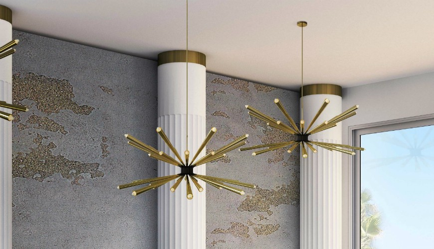 The Most Dramatic Mid-Century Modern Chandeliers for Master Bathrooms 3 Master Bathrooms The Most Dramatic Mid-Century Modern Chandeliers for Master Bathrooms The Most Dramatic Mid Century Modern Chandeliers for Master Bathrooms 3